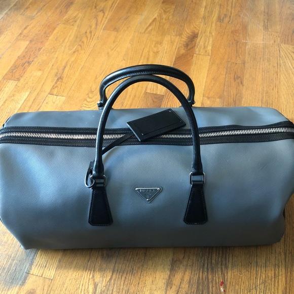 319319fa7b7d Prada Bags | Saffiano Leather Travel Bag | Poshmark